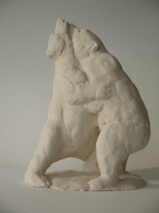 spelende beren, keramiek